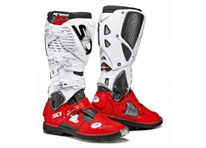 Boots Moto Off-Road Crossfire 3 Black Red White