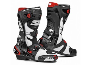 Boots Moto Racing Sidi Rex Black White