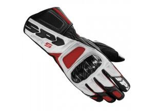 Motorcycle Gloves SPIDI Performance STR-5 Black White Red