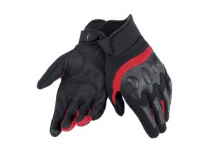 Motorcycle Short Gloves Air Frame Unisex Dainese Black/Red
