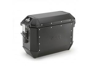 ALA36BPACK2 - Givi Couple Trekker Alaska black aluminium side-case 36 liters