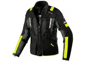 Jacket Moto Spidi H2OUT MODULAR Black Fluo-Yellow