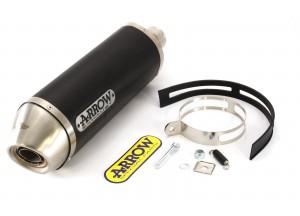 71804AON - SILENCER EXHAUST ARROW RACE-TECH ALLUMIN/DARK HONDA CB 500 F/R '13>