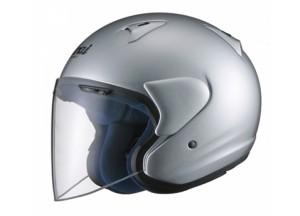 Helmet Jet Arai SZ-F Alluminium Silver