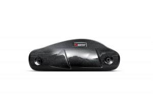 P-HSD8E2 - Heat Shield Akrapovic Carbon Fiber  Ducati HYPERMOTARD / HYPERSTRADA