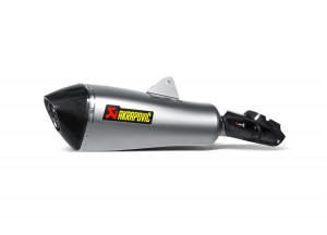 S-B12SO11-HLGT - Silencer Akrapovic Slip-on titanium carbon BMW R 1200 RT
