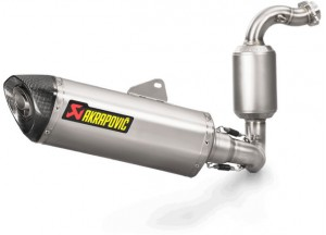 S-B3R1-HRSS/1 - Exhaust Akrapovic Racing Line SS BMW G 310 R / GS (17-18)