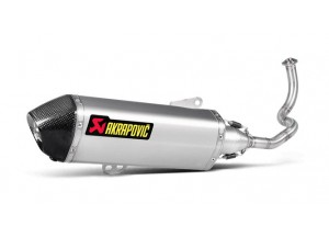 S-H125R2-HRSS - Full Exhaust Akrapovic Racing Stainless Steel Honda SH 125i-150i