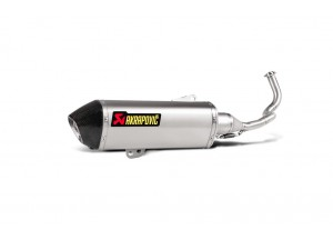 S-H125R4-HRSS - Full Exhaust Akrapovic Racing Stainless Steel Honda PCX 125-150