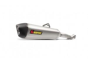 S-H12SO4-HZAAT - Exhaust Muffler Akrapovic Slip-On Titanium Honda Crosstourer