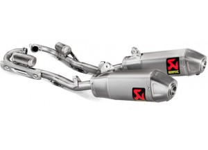 S-H2MET10-CIQTA - Exhaust Akrapovic Evolution Line Titanium Honda CRF 250 R (18)