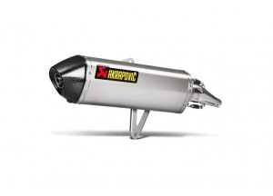 S-H3SO4-HRSS - Full Exhaust Akrapovic Racing Stainless Steel Honda SH 300 i