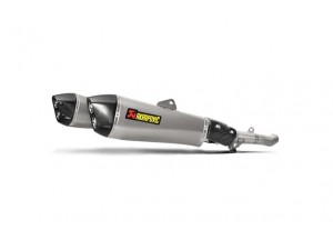 S-K14SO6-HZAAT - Muffler Akrapovic Approved Titanium Kawasaki ZZR1400/ZX14R
