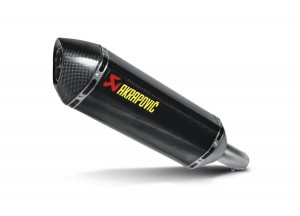 S-S7SO1-HRC - Silencer Exhaust Akrapovic Slip-on Suzuki GSR 750 11-14