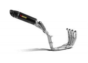 S-Y10RFT10-ZC/2 - Exhaust System Akrapovic Evolution Line Yamaha YZF-R1 09-14