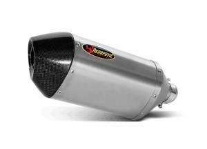 S-Y6SO6-HTT - Silencer Exhaust Akrapovic Slip-on Yamaha YZF-R 6 06-07