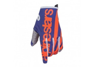 Gloves Alpinestars RADAR 7 Blue/Orange