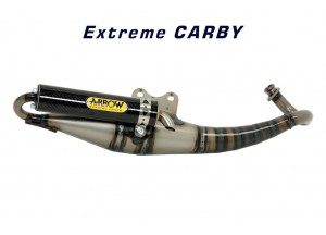 33503EK - MUFFLER ARROW EXTREME SILENCER CARBON MBK NITRO 50