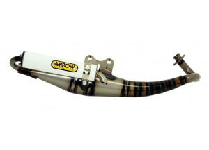 33506ENB - MUFFLER ARROW EXTREME SILENCER ALLUMIN WHITE PEUGEOT SPEEDFIGHT 50