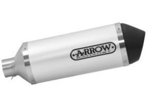 53520AN - Exhaust Muffler Arrow Urban Aluminum Vespa Primavera 125 i-get 3V