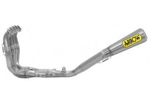 71150CP - Full Exhaust Arrow Comp. EVO2 Pro-Race Titanium S.S. Yamaha YZF R1 '15