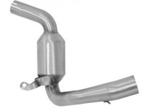 71600KZ - Exhaust Mid Pipe Arrow Catalytic KTM Duke 390 (13-16)