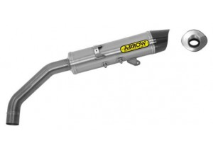 71815PK - Silencer Exhaust Arrow Maxi R-T titanium c. c. BENELLI TRE-K 1130 '13