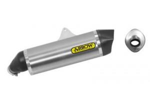71816AK - Silencer Exhaust Arrow Maxi R-T aluminium c. c. SUZUKI DL 1000 V-STROM