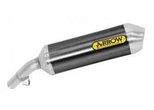 71819AON - Exhaust Muffler Arrow Race-Tech Alu Dark SSC Honda VFR 800 F '14