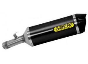 71828AKN - Exhaust Muffler Arrow Race-Tech Alu Dark CC Suzuki GSX-S 1000 '15