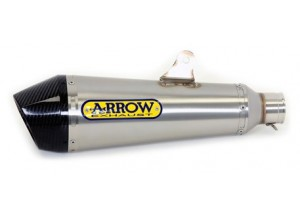 71828XKI - Exhaust Muffler Arrow X-Kone Stainless Steel CC Suzuki GSX-S 1000 '15