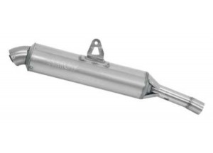 72640PD - Exhaust Muffler Arrow Stainless Steel Approved Suzuki DR 600 R '85-87