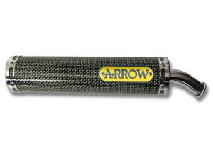 51098SU - SILENCER MUFFLER EXHAUST ARROW made with Kevlar CAGIVA MITO 125 99-04