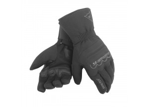 Motorcycle Gloves Dainese Freeland Gore-Tex Leather Black/Black