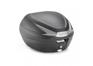 B330NT - Givi BLACK MONOLOCK® TOP-CASE 33 LTR WITH SMOKED REFLECTORS