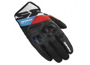 Motorcycle Gloves SPIDI FLASH-R EVO Black Red Blue