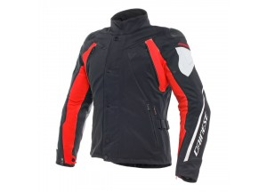 Jacket Dainese D-Dry Rain Master Waterproof Black/Glacier-Gray/Red