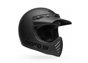 Helmet Bell Off-road Motocross Moto-3 Classic Blackout