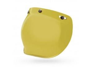 7018136 - Visor Bell Custom 500 PS 3-Snap Bubble Hi-Def. Yellow