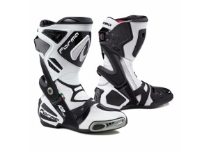Leather Boots Racing Forma Ice Pro White Black