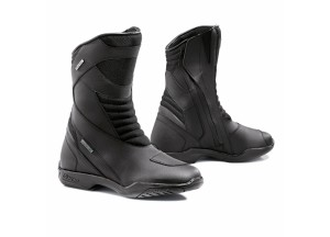 Leather Boots Forma Touring Waterproof Model Nero Color Black