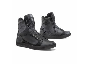 Shoes Moto Forma Urban Leather Waterproof Hyper Black Black