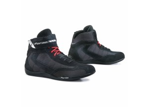 Boots Moto Forma Urban Technical Leather Rookie Pro Black