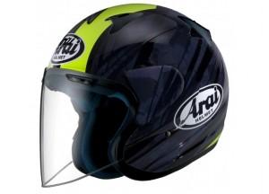 Helmet Jet Arai SZ-F Blast Yellow