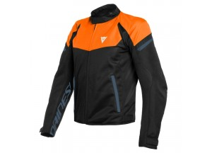 Jacket Dainese Bora Air Tex Black-Iris Flame-Orange Black