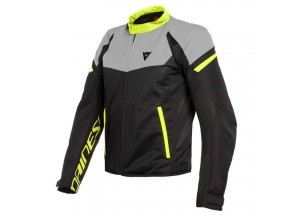 Jacket Dainese Bora Air Tex Black Magnesio-Matt Yellow Fluo