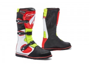 Boots Forma Trial Boulder White Red Yellow Fluo