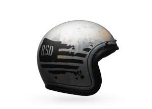 Helmet Jet Bell Custom 500 SD 74 Black/Silver
