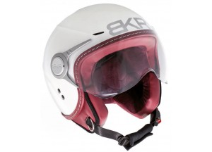 Helmet Jet BKR Due White