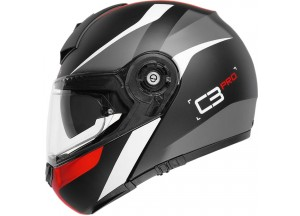 Helmet Flip-Up Schuberth C3 Pro Sestante Matt Red